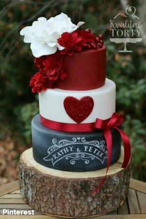 Tema Amor - Bolo de Casamento Temático - Inspirações