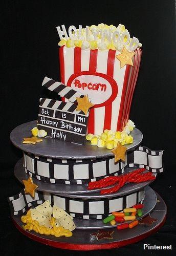 Tema Cinema2 - Bolo de Casamento Temático - Inspirações