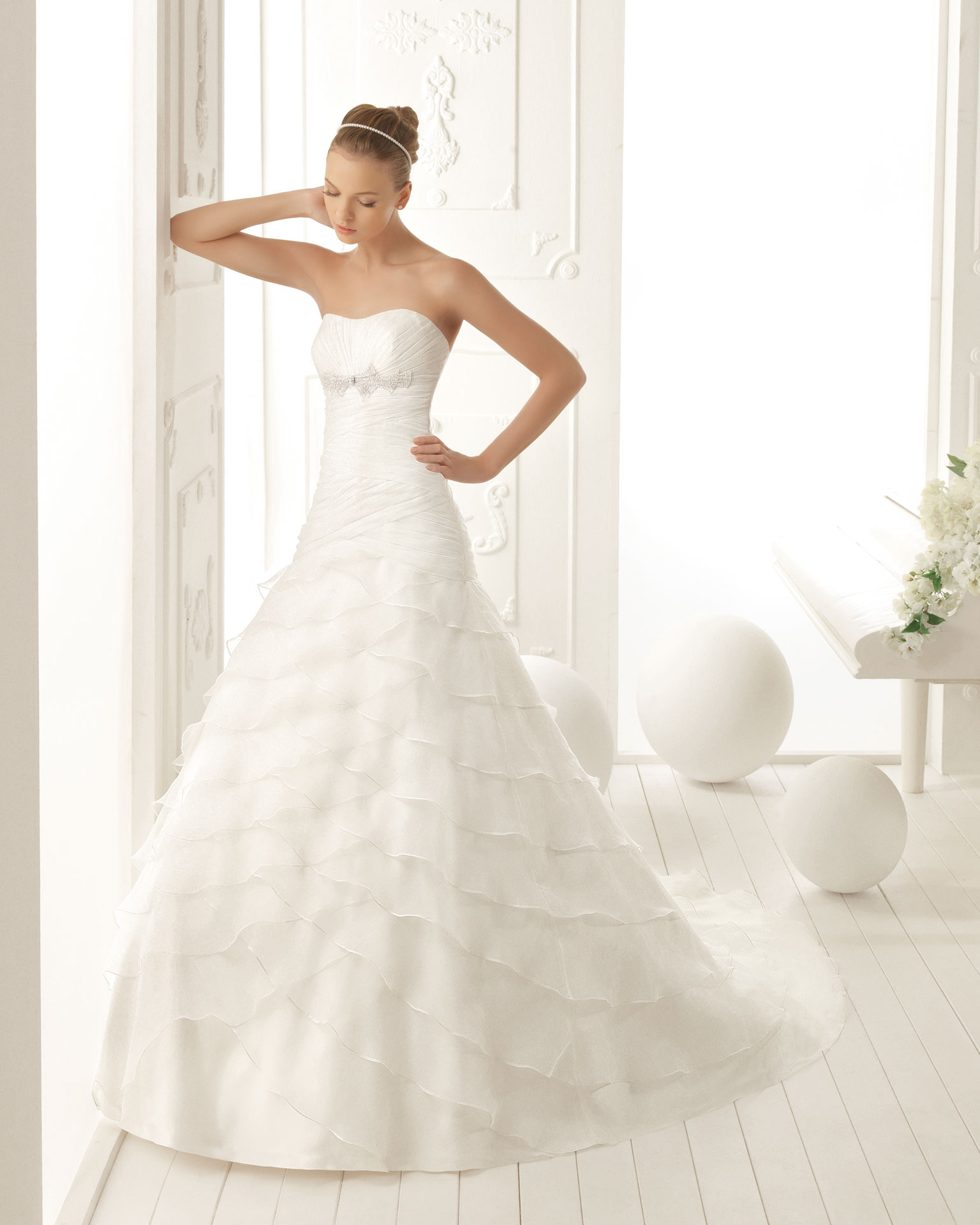 aire barcelona - Vestidos de Noiva / Bridal Collection - Colecções 2013