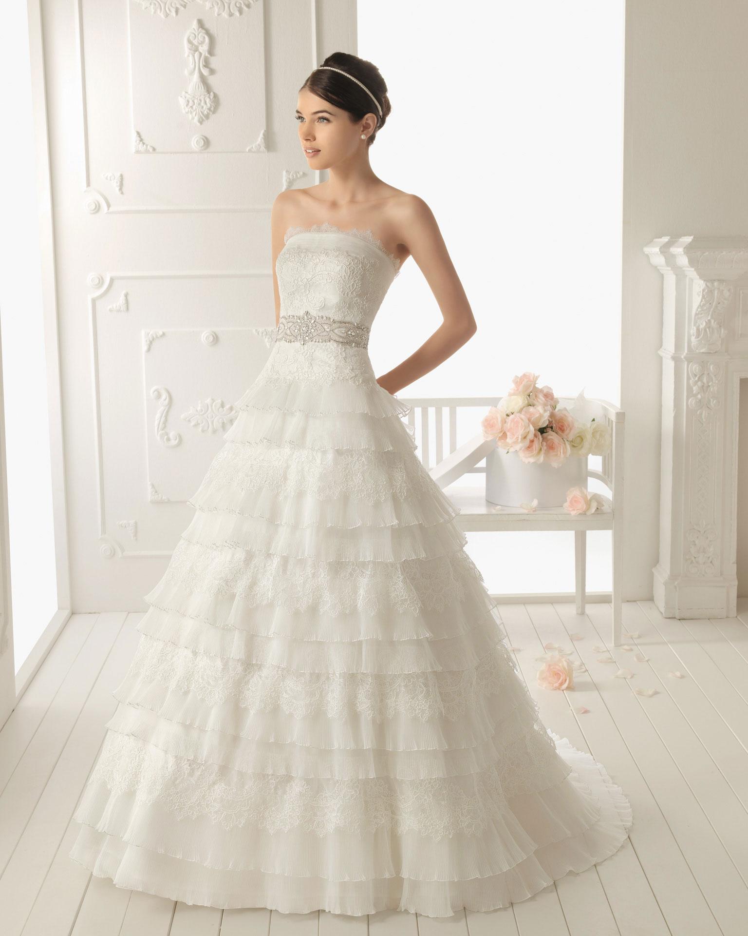 aire barcelona4 - Vestidos de Noiva / Bridal Collection - Colecções 2013