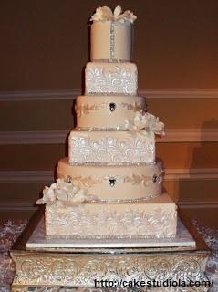 bolo13 1 - Bolo de Casamento Clássico - Inspirações
