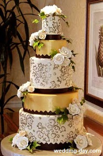 bolo16 1 - Bolo de Casamento Clássico - Inspirações