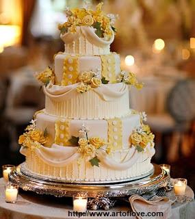 bolo18 1 - Bolo de Casamento Clássico - Inspirações