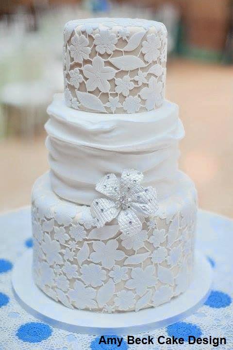 bolo23 1 - Bolo de Casamento Clássico - Inspirações