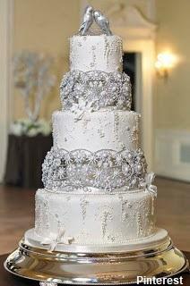 bolo26 - Bolo de Casamento Clássico - Inspirações