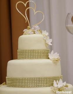 bolo30 - Bolo de Casamento Clássico - Inspirações