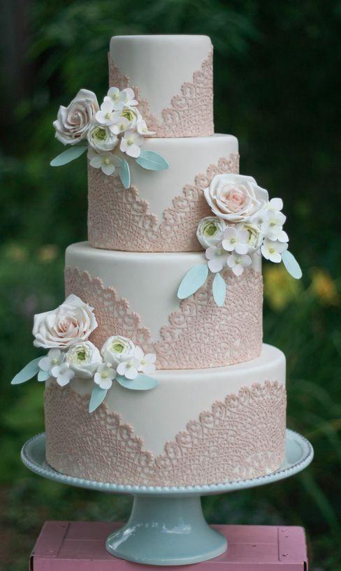 bolo32 - Bolo de Casamento Clássico - Inspirações