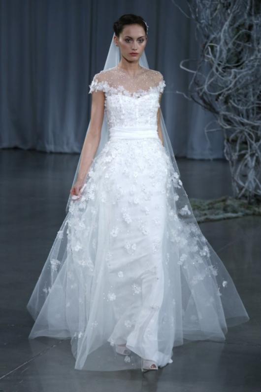 monique lhuillier noiva 2013 23 - Vestidos de Noiva / Bridal Collection - Colecções 2013