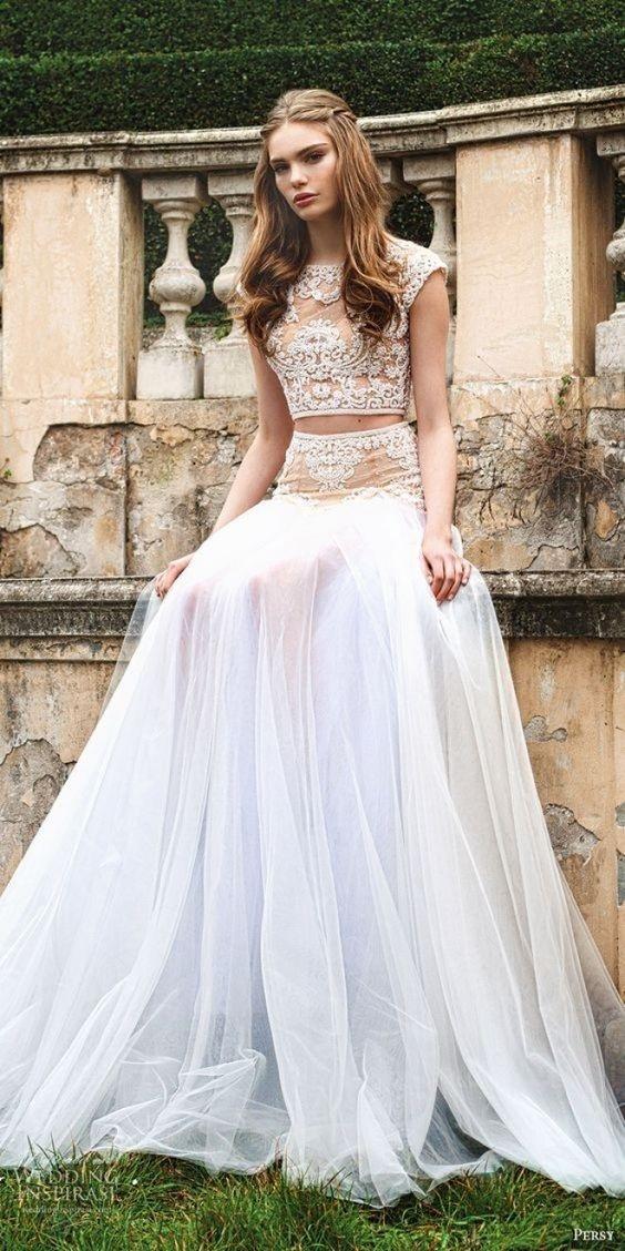 vestido10 - Vestidos de noiva top crop