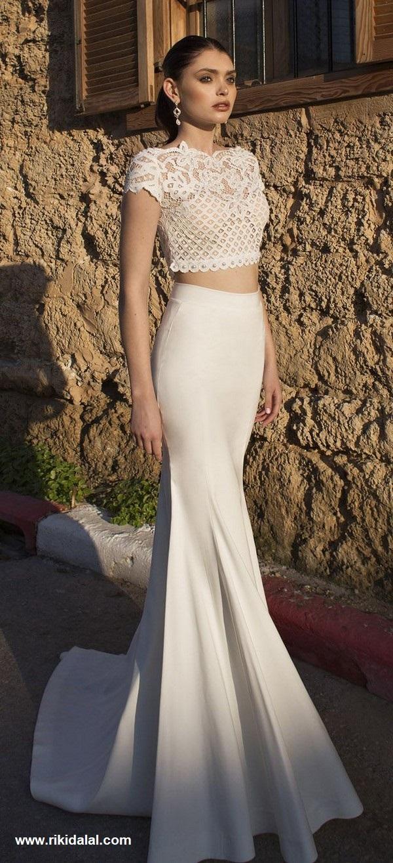 vestido11 - Vestidos de noiva top crop