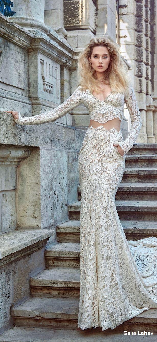 vestido12 - Vestidos de noiva top crop