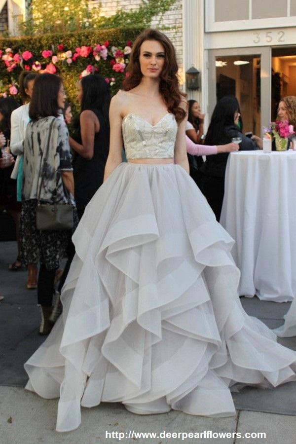 vestido14 - Vestidos de noiva top crop