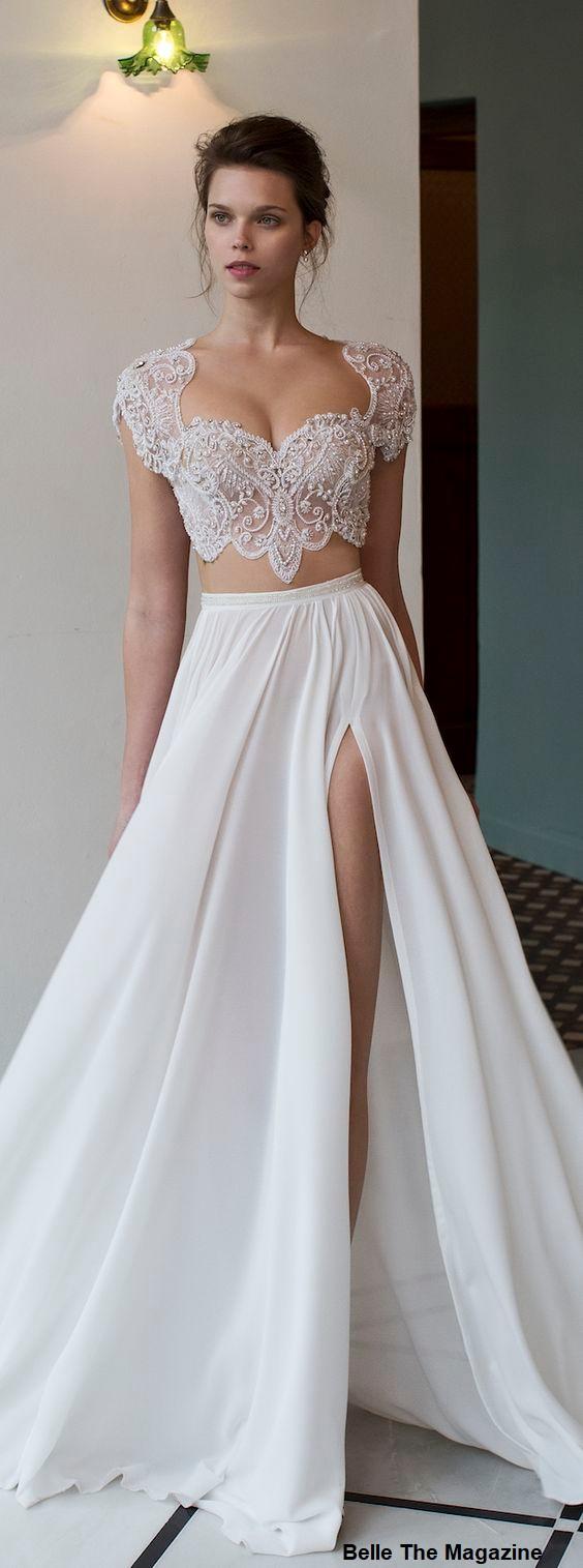 vestido15 - Vestidos de noiva top crop