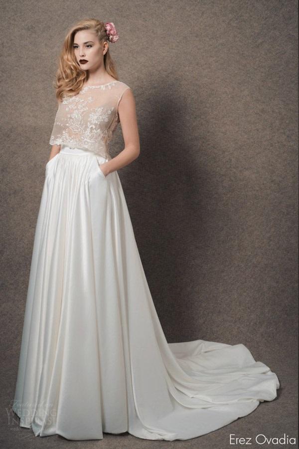 vestido16 - Vestidos de noiva top crop