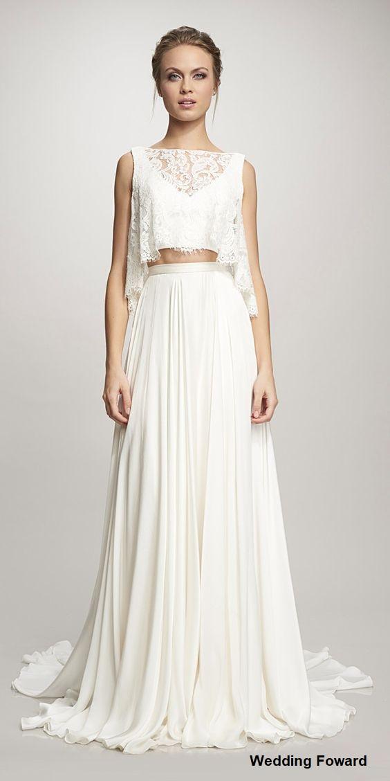 vestido17 - Vestidos de noiva top crop