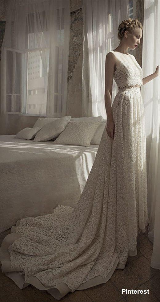 vestido19 - Vestidos de noiva top crop