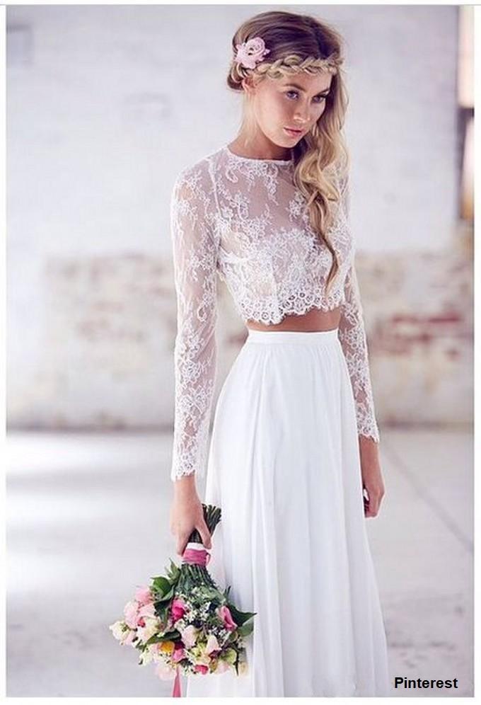 vestido2 - Vestidos de noiva top crop