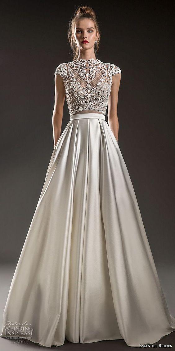 vestido21 - Vestidos de noiva top crop