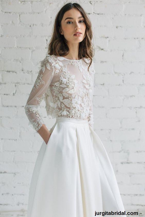 vestido3 - Vestidos de noiva top crop