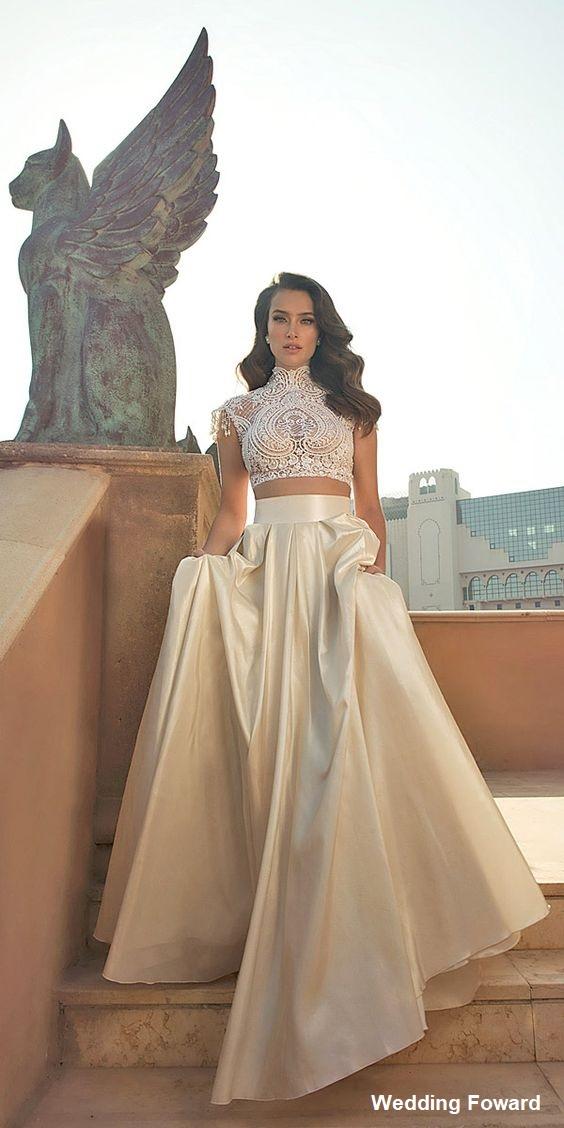 vestido8 - Vestidos de noiva top crop