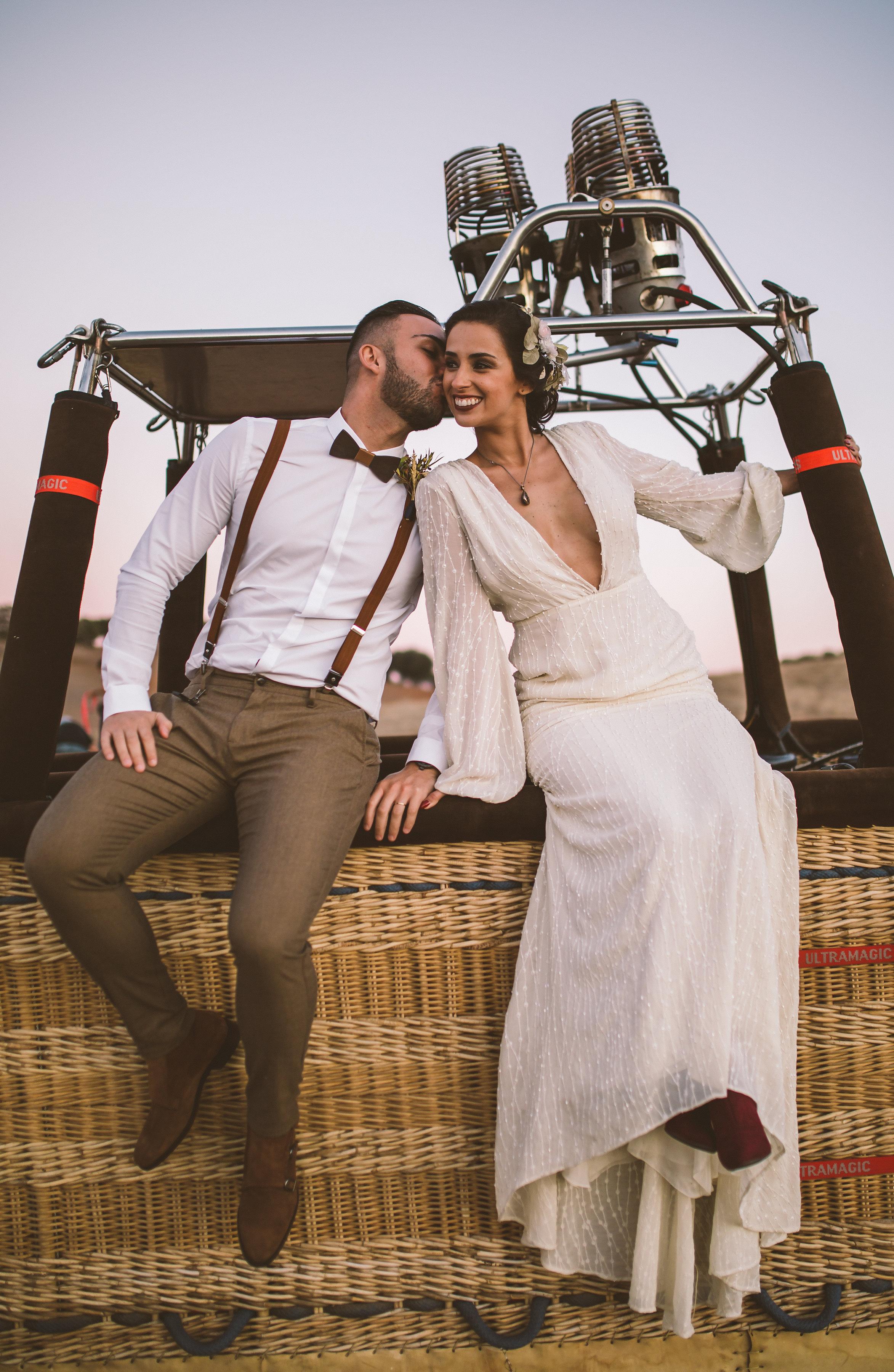 Bad Bad Maria Hot Balloon Wedding13 - Casamento em balão de ar quente