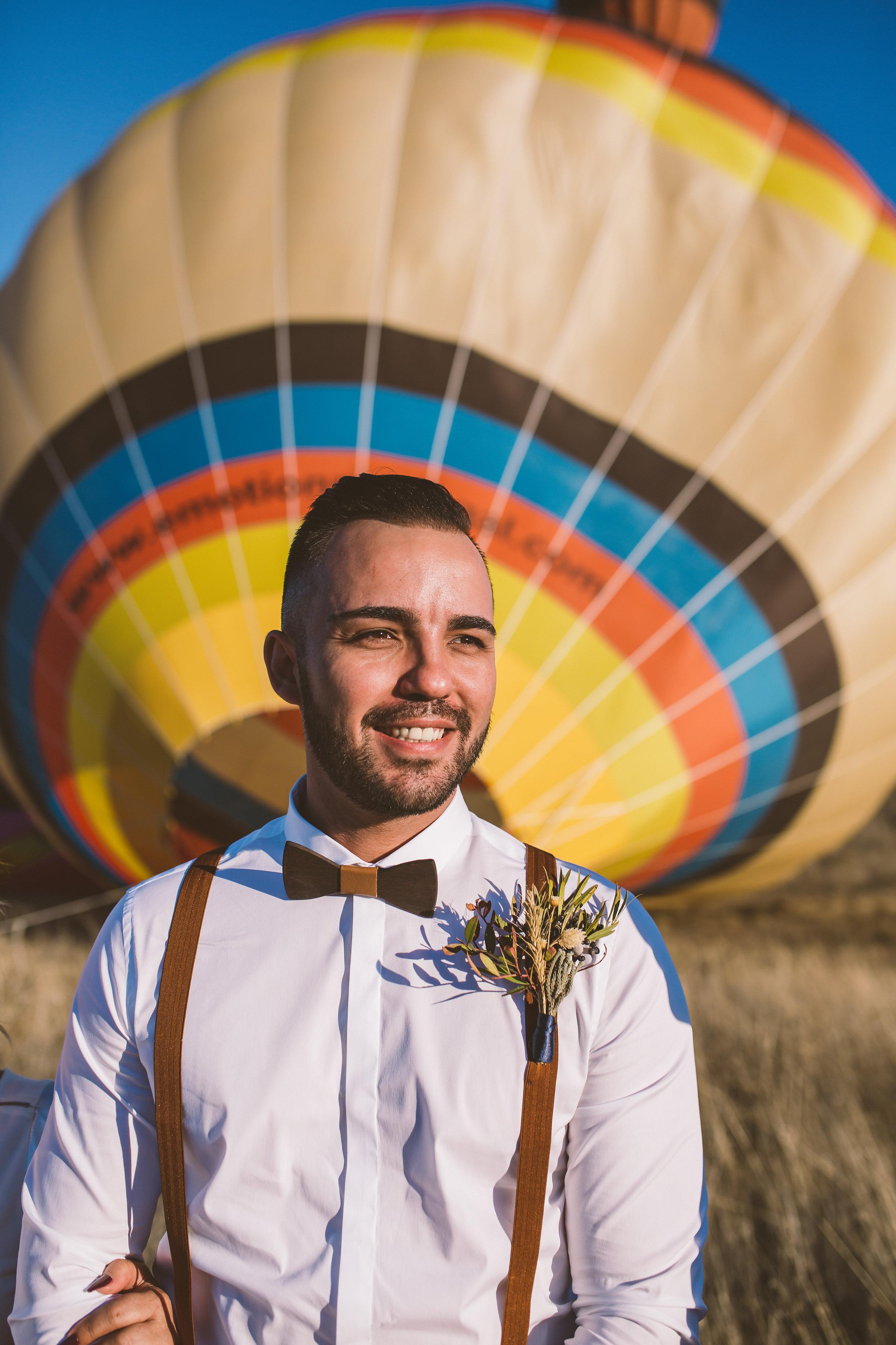 Bad Bad Maria Hot Balloon Wedding5 - Casamento em balão de ar quente