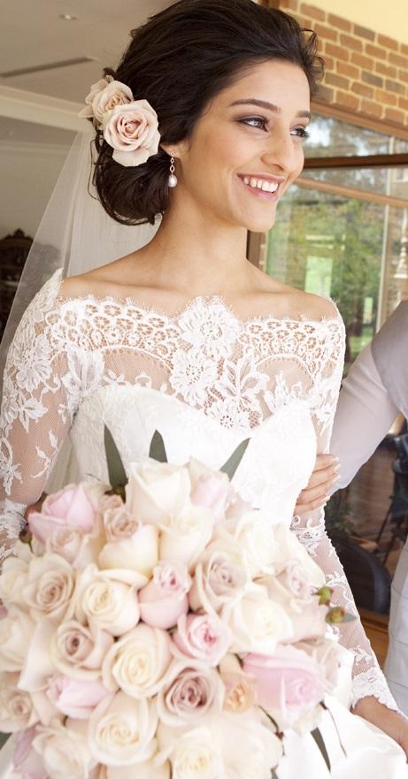 Pinterest - Ideias de decoração em rosa velho para o seu casamento romântico