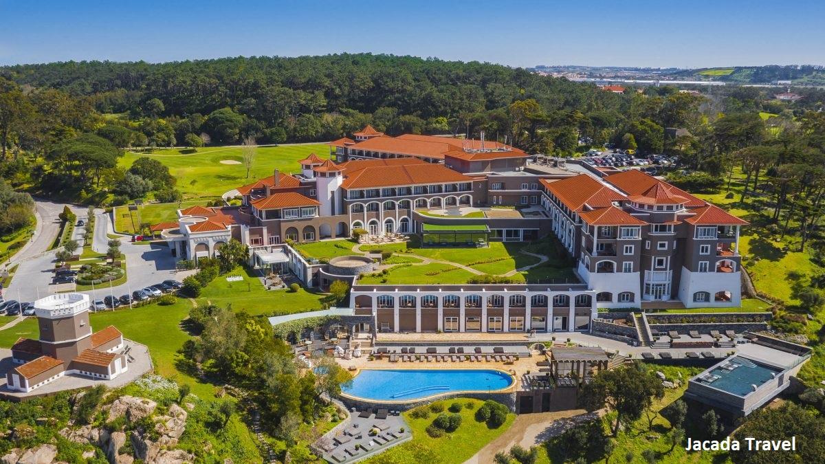 Vista aérea do Penha Longa Resort