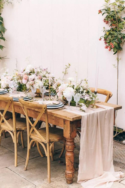 Rebecca Goddard Photography - Ideias de decoração em rosa velho para o seu casamento romântico