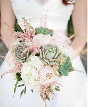 flirtyflowers - Ideias de decoração em rosa velho para o seu casamento romântico