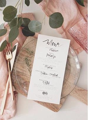 www.brit .co  - Ideias de decoração em rosa velho para o seu casamento romântico