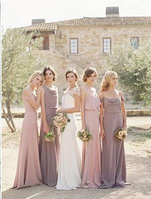 www.carolinetran.net  - Ideias de decoração em rosa velho para o seu casamento romântico