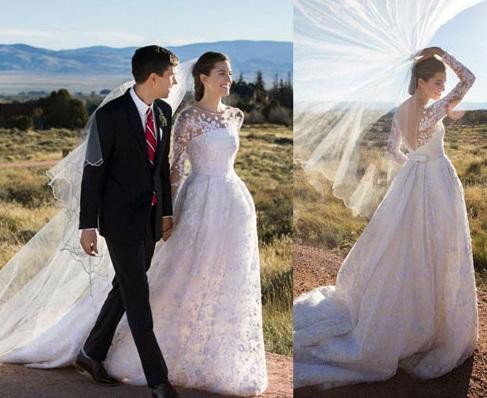 Casamento de Allison Williams
