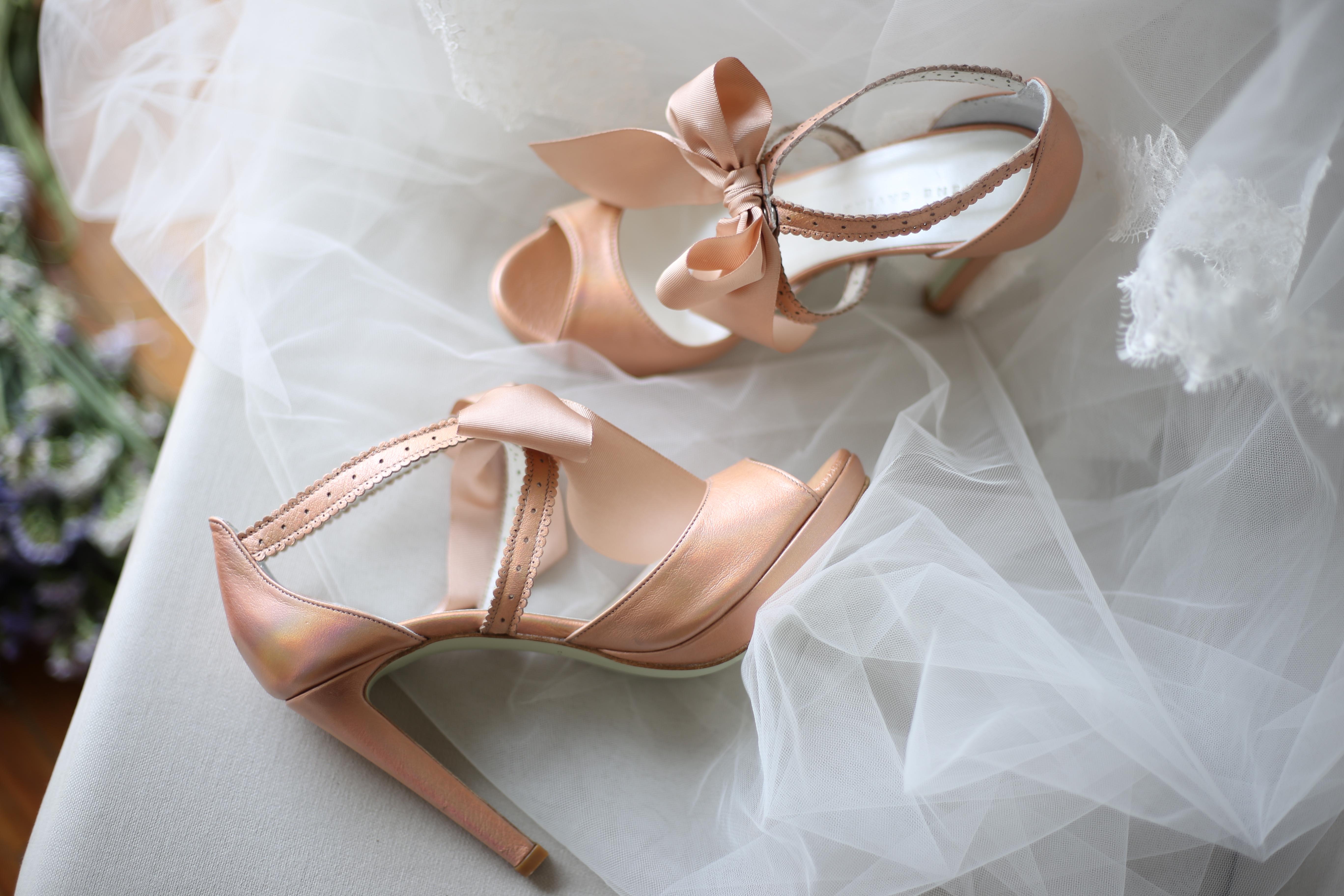 Crème 1 - Sapatos de noiva personalizados