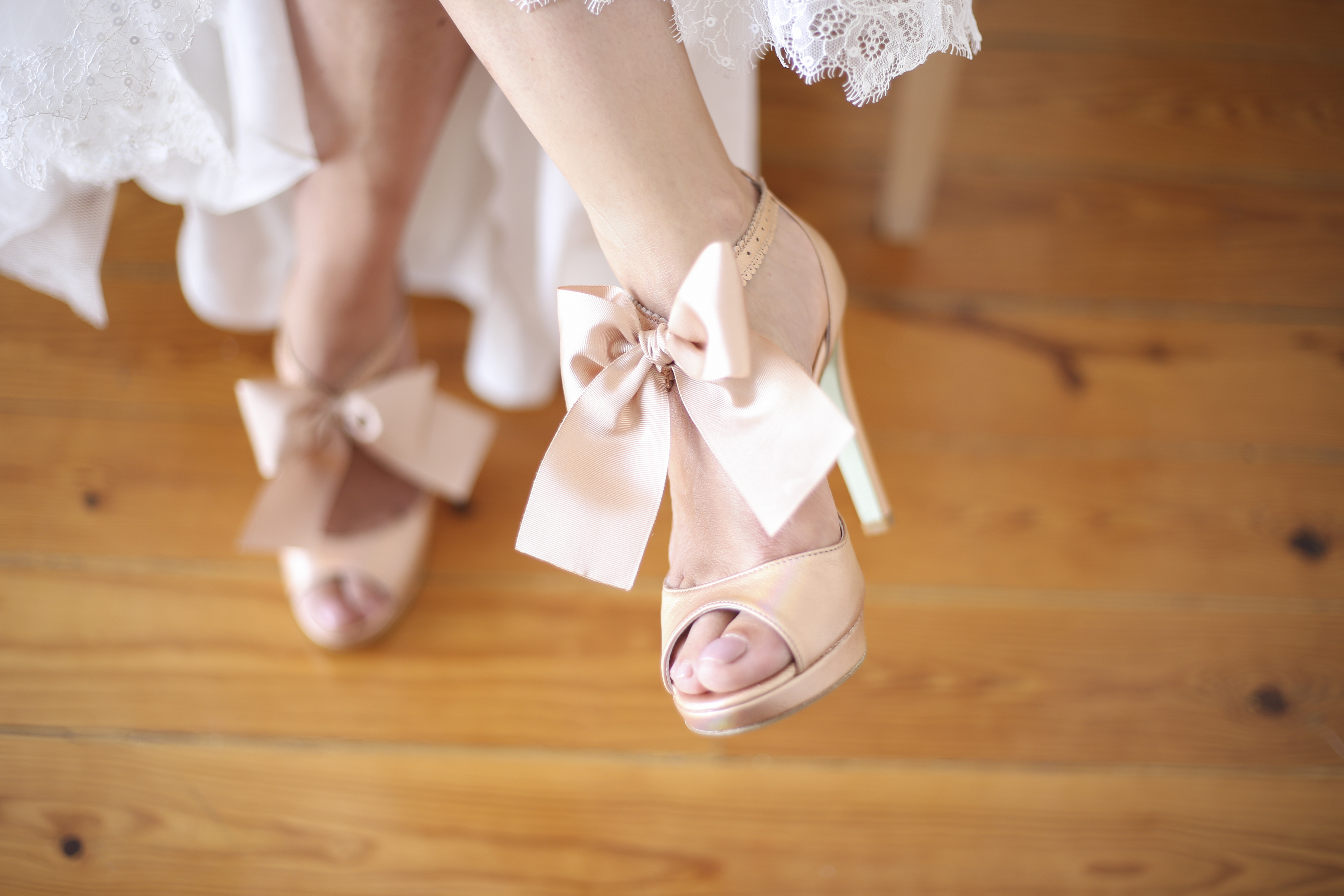 Crème 2 - Sapatos de noiva personalizados
