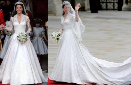 Kate Middleton vestida de noiva