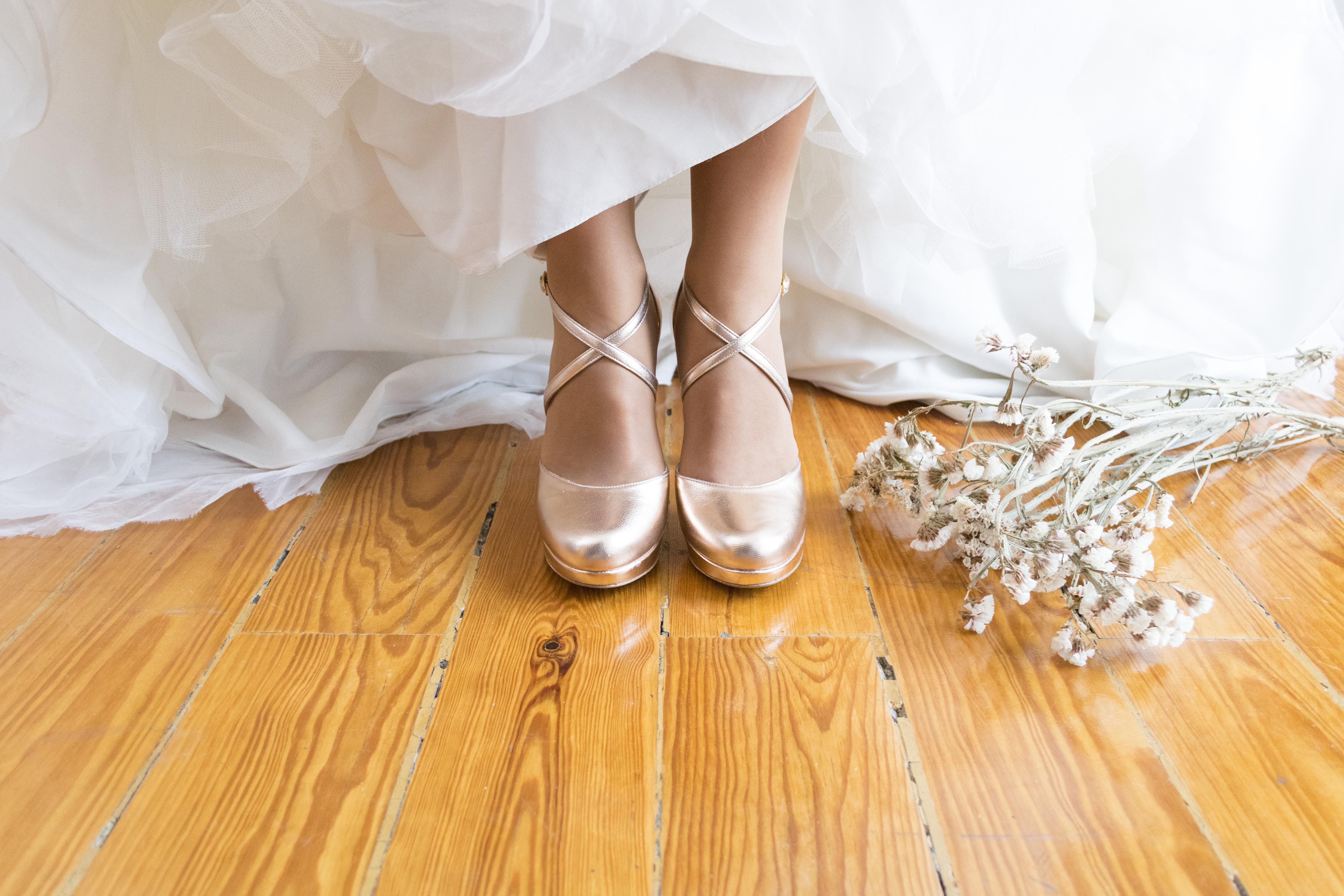 Memory 1 - Sapatos de noiva personalizados