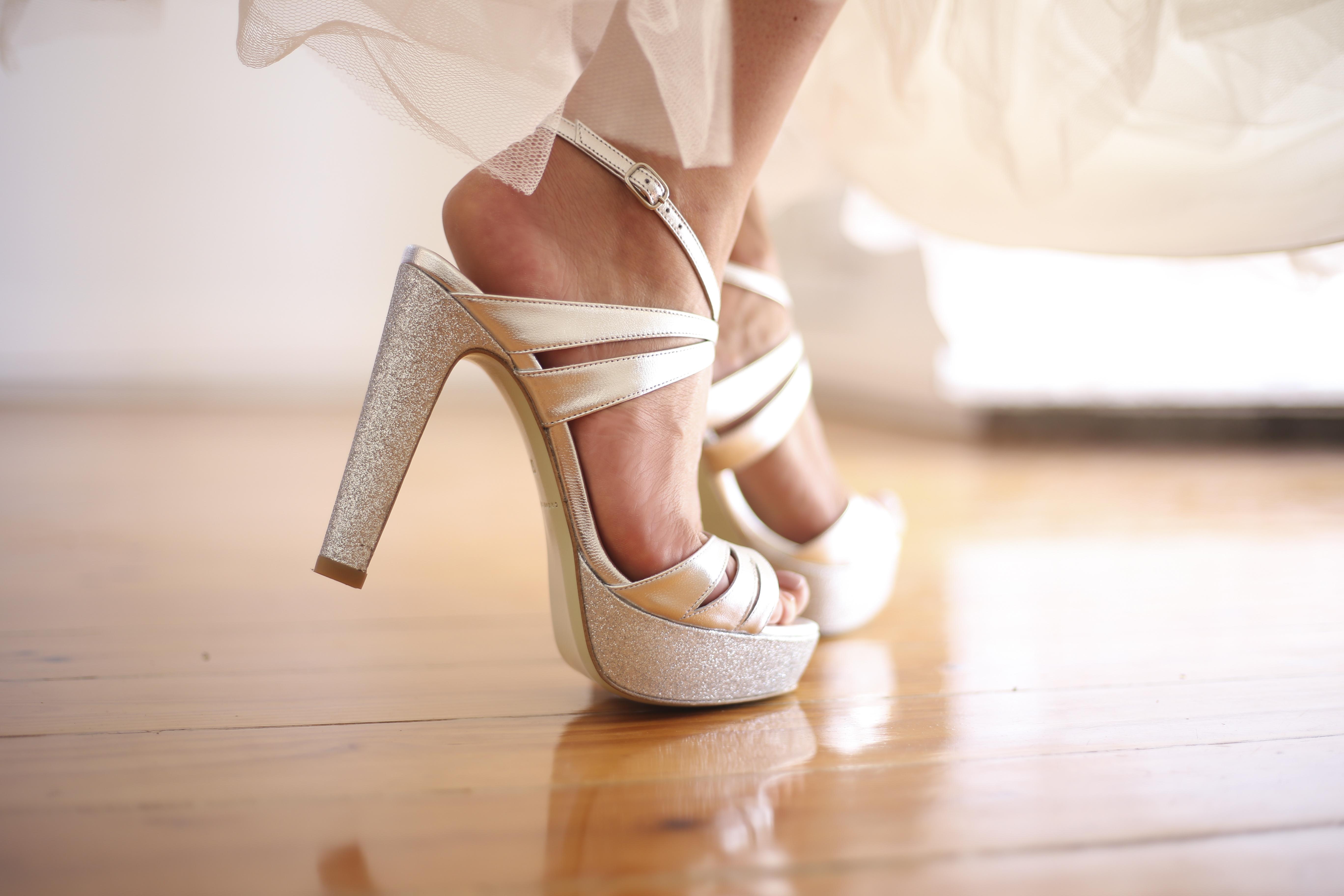 Party 4 - Sapatos de noiva personalizados
