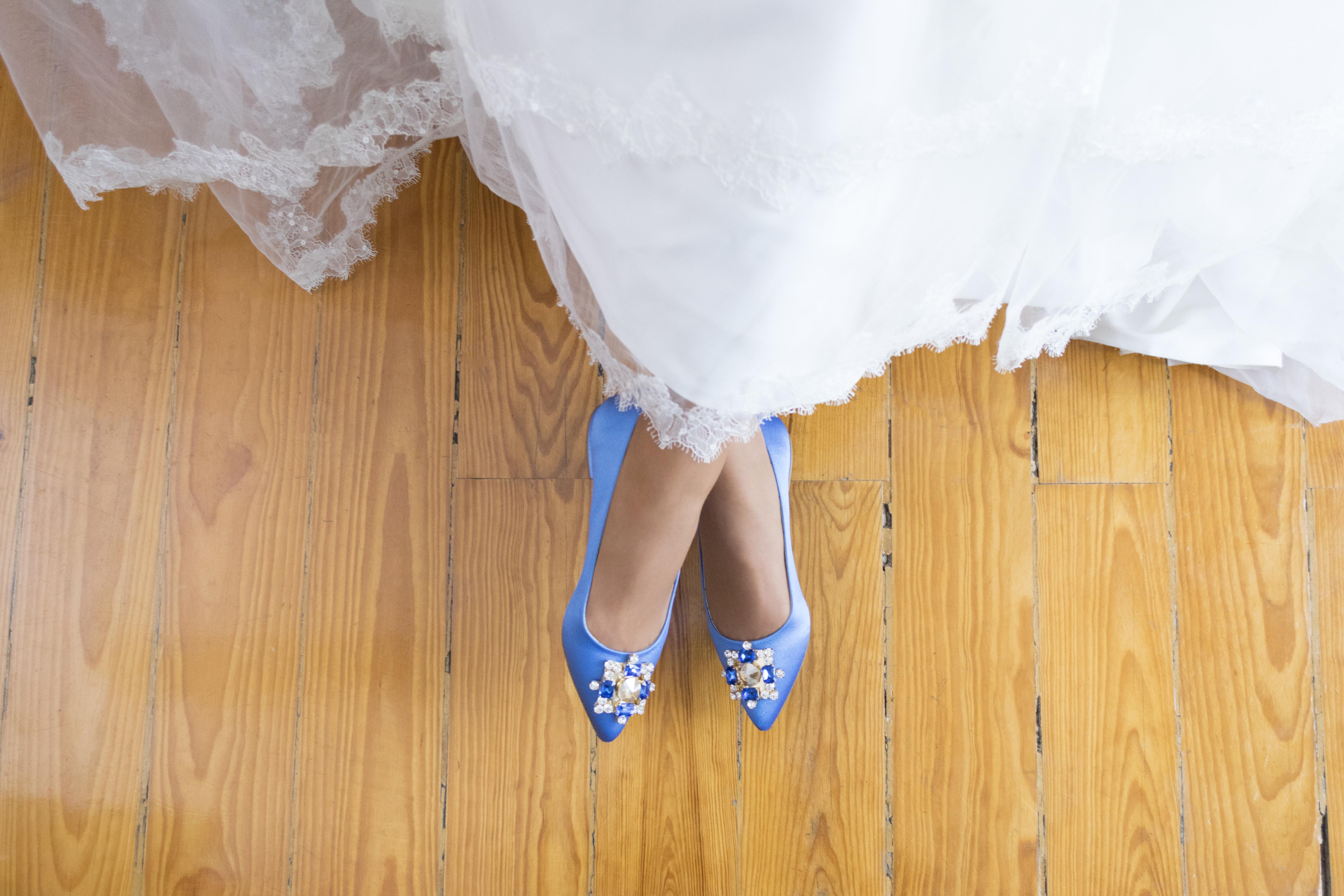 Royal Cetim - Sapatos de noiva personalizados
