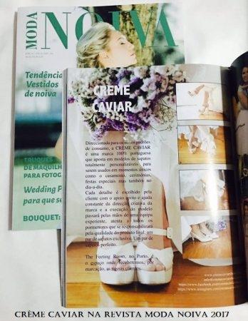 Crème Caviar - Revista Moda Noiva