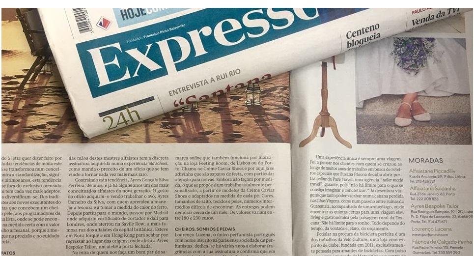 creme caviar imprensa4 expresso - Sapatos de noiva personalizados
