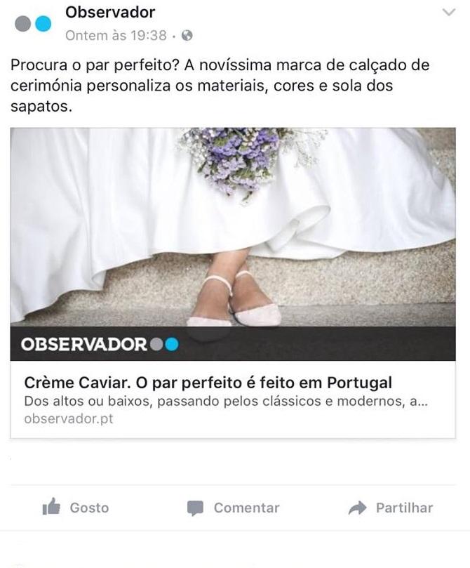 creme caviar imprensa6 - Sapatos de noiva personalizados