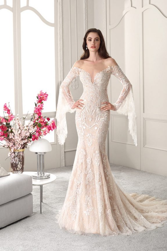 Demetrios 823 - Vestidos de Noiva 2019 - Bridal Collection 2019