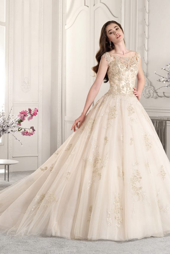 Demetrios 884 - Vestidos de Noiva 2019 - Bridal Collection 2019