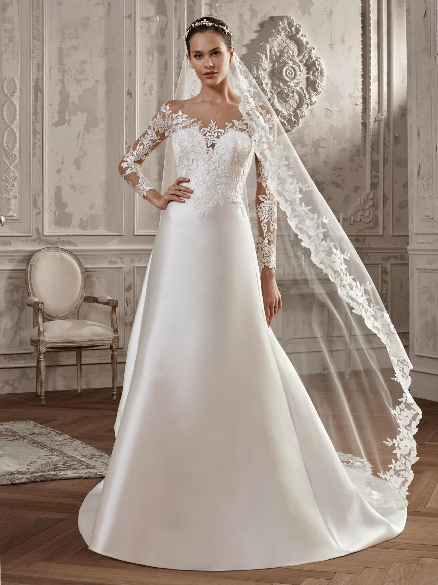 St Patrick ACUARELA B - Vestidos de Noiva 2019 - Bridal Collection 2019