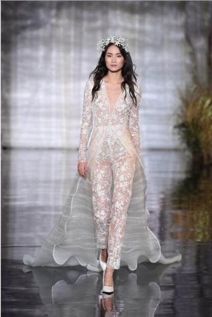 CALÇAS Atelier Eme - Tendências para vestidos de noiva em 2019