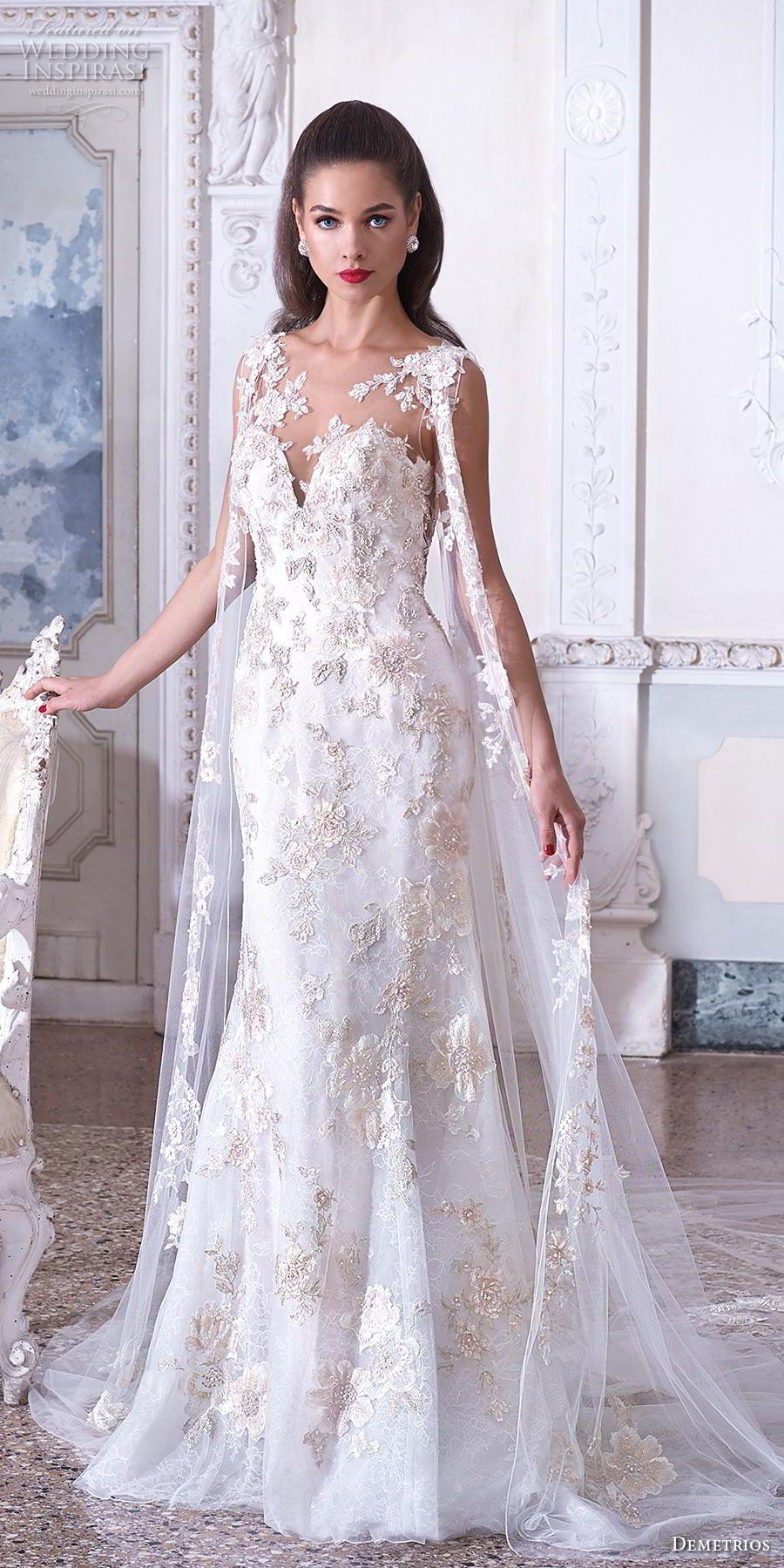 CAPA Demetrios - Tendências para vestidos de noiva em 2019