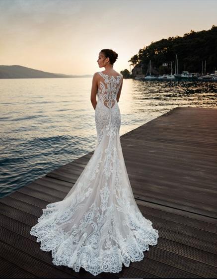 EFEITO TATUAGEM EDDY K - Tendências para vestidos de noiva em 2019
