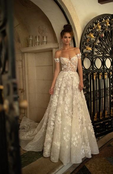 ESTILO FLORAL Berta Bridal - Tendências para vestidos de noiva em 2019