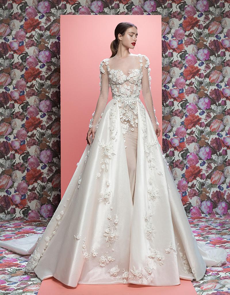 ESTILO FLORAL GALIA LAHAV 2 - Tendências para vestidos de noiva em 2019